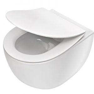 Miska WC wisząca bez kołnierza Deante PEONIA ZERO