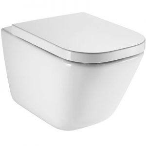 Miska WC wisząca bezkołnierzowa Rimless Roca GAP