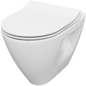 Miska WC zawieszana z deską wolnoopadającą Slim Cersanit MILLE