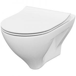 Miska WC z deską wolnoopadającą Cersanit MILLE